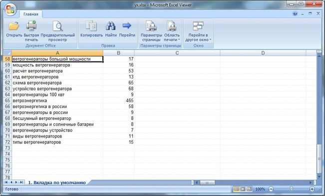 Microsoft Office Excel Viewer 12.0.6424.1000